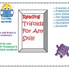 Reading  Comprehension Skill Trifolds for Any Book