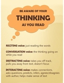 Reading Comprehension Strategies: Be Aware of Your Thinkin