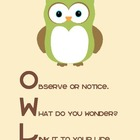 Reading Comprehension Strategies: OWL Connections Poster