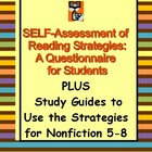 Reading Comprehension Strategies Student Questionnaire for 5-9