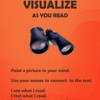 Reading Comprehension Strategies: Visualize Poster