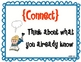 Reading Comprehension Strategy Posters-Connect and more!