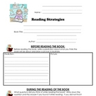 Reading Comprehension Strategy Sheet (Primary version)