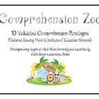 Reading Comprehension Zoo