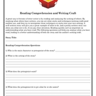 Reading Comprehension and Writing Craft Questions