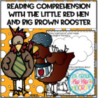 Reading Comprehension with The Little Red Hen