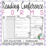 Reading Conference Forms:Notetaking,Scheduling,Record-Keep