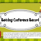 Reading Conference Record (Reading Continuum and Running R