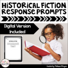 Reading Exit Slips - Historical Fiction (Grades 4-6)