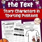 Reading Extension Activity for Any Novel Pick Your Sport