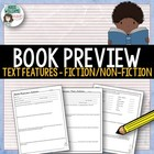 Reading Fiction &amp; Non-Fiction Text Features - Book Detective