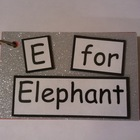 Reading Fluency: E for Elephant Text Only Word Family Book