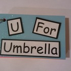 Reading Fluency: U for Umbrella Text Only Word Family Book