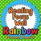 &quot;Reading Focus Wall&quot; Banner or Bunting
