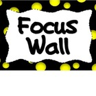 Reading Focus Wall-Bubble Dots