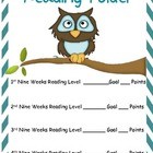Reading Folder Cover Owl