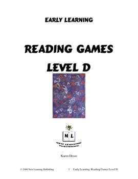 Reading Games: Level D
