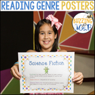 Reading Genre Poster Set + Printable Tools for Notebooks