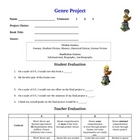 Reading Genre Project Rubric Assessment for Students and Teacher