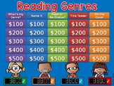 Reading Genres GAME SHOW - 2nd-5th Grade w Contestants int