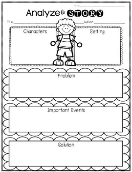 Reading Graphic Organizers for Little Learners