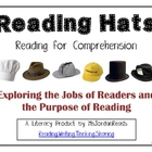 Reading Hats for Comprehension: Posters &amp; Bookmarks