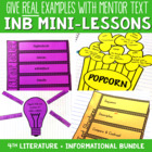 Reading Interactive Notebook with Mini Lessons - All 4th G