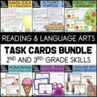 Reading & Language Arts Task Cards Collection: 9 Independe