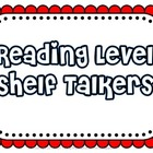 Reading Level Shelf Talker