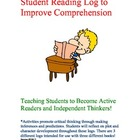 Reading Log to Promote Comprehension & Critical Thinking