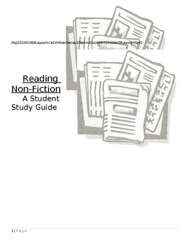 Reading Non-Fiction - Student Study Guide