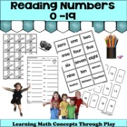 Reading Numbers 0-19 Math Games and Lesson Plans