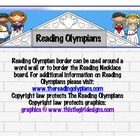 Reading Olympian Border-Greek &amp; Latin Root