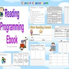 Reading Programming eBook - guided reading, worksheet & mo
