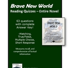 Reading Quizzes for Brave New World