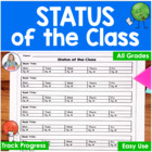 Reading Recording-Status of the Class