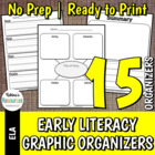 Reading Response Activities - Literary Elements for Early