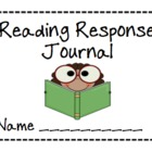 Reading Response Journal Printable