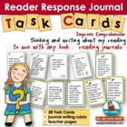 Reading Response Journals - Grades 2-6