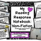 Reading Response Notebook: Non-Fiction!