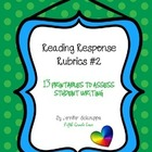 Reading Response Rubrics 2