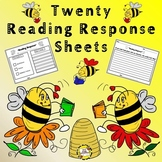 Reading Response Sheets (Bee Themed!)