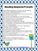 Reading Response Task Cards, Write About Your Reading
