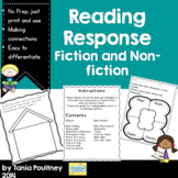 Reading Response- for fiction and non fiction books
