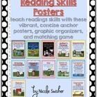 Reading Skills Posters/Organizers/Reference Sheet/Tests an