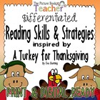 Reading Skills &amp; Strategies Packet inspired by A Turkey fo