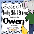 Reading Skills &amp; Strategies Packet inspired by Owen by Kev