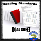 Reading Standards Goal Sheet