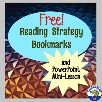 Reading Strategies Bookmarks and PowerPoint