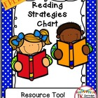 Reading Strategies Chart for School & Home